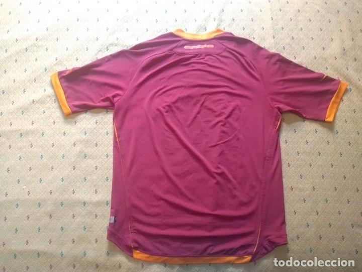 Coleccionismo deportivo: CAMISETA AS ROMA - TEMPORADA 2005 2006 - DIADORA - OFICIAL - Foto 2 - 175191879