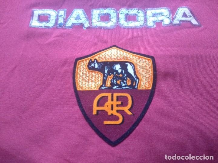 Coleccionismo deportivo: CAMISETA AS ROMA - TEMPORADA 2005 2006 - DIADORA - OFICIAL - Foto 3 - 175191879