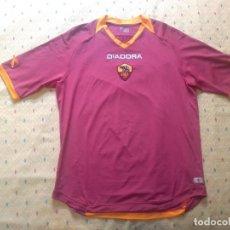 Coleccionismo deportivo: CAMISETA AS ROMA - TEMPORADA 2005 2006 - DIADORA - OFICIAL. Lote 175191879