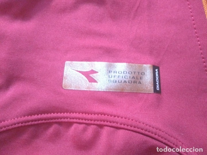 Coleccionismo deportivo: CAMISETA AS ROMA - TEMPORADA 2005 2006 - DIADORA - OFICIAL - Foto 6 - 175191879
