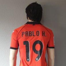 Coleccionismo deportivo: Nº19 PABLO H VALENCIA C.F 2011-2012 THIRD CAMISETA FUTBOL. Lote 175601994