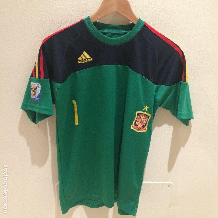 Camiseta iker casillas - seleccion española - n - Vendido en Subasta -  175935479