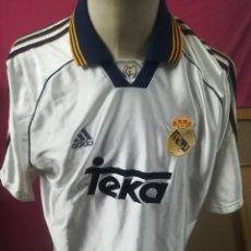 Coleccionismo deportivo: CAMISETA FUTBOL ORIGINAL ADIDAS REAL MADRID TEKA. Lote 175966600