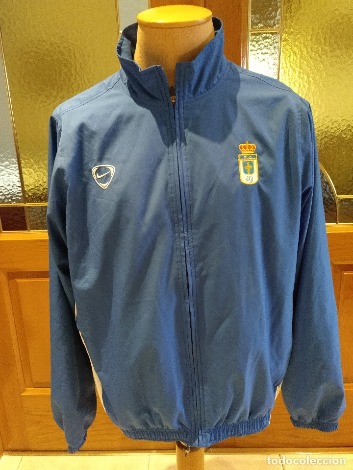 escotilla Teseo Persistencia  chaqueta futbol real oviedo nike. talla xl 188c - Buy Football T-Shirts at  todocoleccion - 176495458