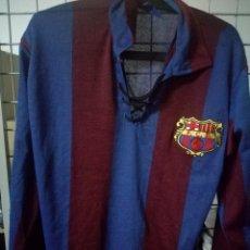 Coleccionismo deportivo: 1920 REPLICA L FC BARCELONA CAMISETA FUTBOL FOOTBALL SHIRT. Lote 176937018