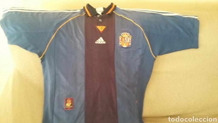 CAMISETA SELECCIÓN ESPAÑOLA MUNDIAL 98. TALLA L. (Coleccionismo Deportivo - Ropa y Complementos - Camisetas de Fútbol)