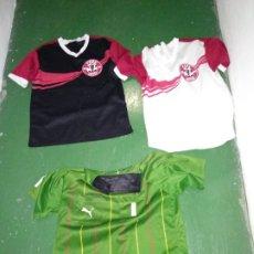 Coleccionismo deportivo: LOTE DE 3 CAMISETA COPA COCA COLA 2008-09 Y UNA SE ÁRBITRO. Lote 178241407