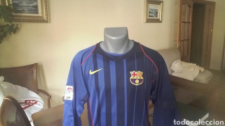 Coleccionismo deportivo: FC Barcelona . Lote 10 camisetas. Simbólicas y peculiares. - Foto 4 - 178246482