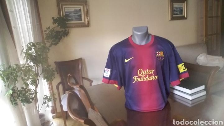 Coleccionismo deportivo: FC Barcelona . Lote 10 camisetas. Simbólicas y peculiares. - Foto 7 - 178246482