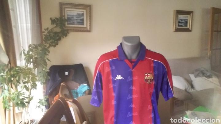 Coleccionismo deportivo: FC Barcelona . Lote 10 camisetas. Simbólicas y peculiares. - Foto 8 - 178246482