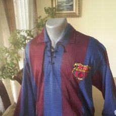Coleccionismo deportivo: FC BARCELONA . LOTE 10 CAMISETAS. SIMBÓLICAS Y PECULIARES.. Lote 178246482