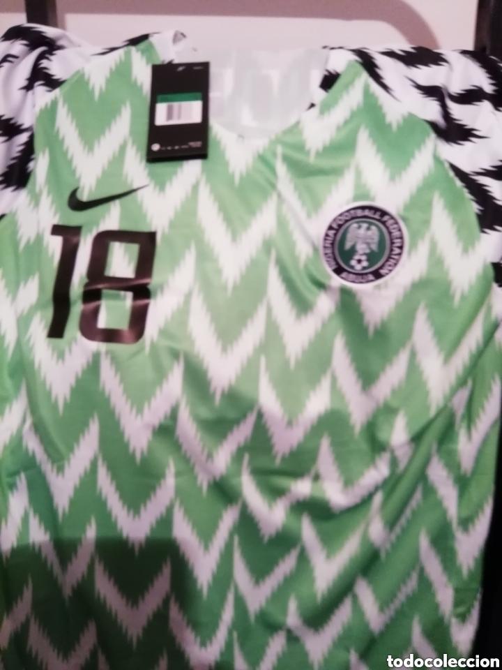 Coleccionismo deportivo: Selección Nigeria 2018. Talla L. Con etiqueta y número. - Foto 3 - 178588595