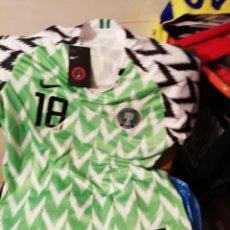 Coleccionismo deportivo: SELECCIÓN NIGERIA 2018. TALLA L. CON ETIQUETA Y NÚMERO.. Lote 178588595