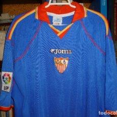 Colecionismo desportivo: CAMISETA SEVILLA F.C. 2001/02 (JOMA).. Lote 178990611