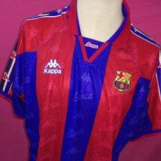 Coleccionismo deportivo: CAMISETA VINTAGE FUTBOL ORIGINAL KAPPA FC BARCELONA BARÇA TALLA L. Lote 179134576
