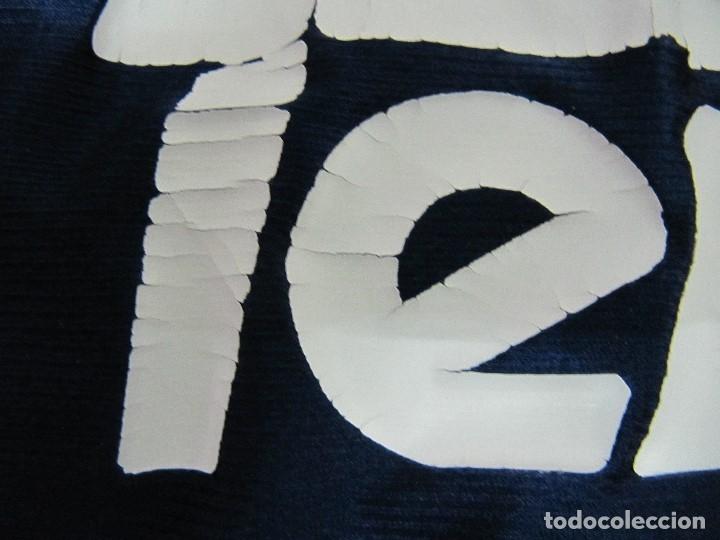 Coleccionismo deportivo: Camiseta R.Madrid ADIDAS publicidad Teka talla S original azul - Foto 4 - 179242693