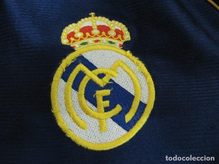 Coleccionismo deportivo: Camiseta R.Madrid ADIDAS publicidad Teka talla S original azul - Foto 6 - 179242693