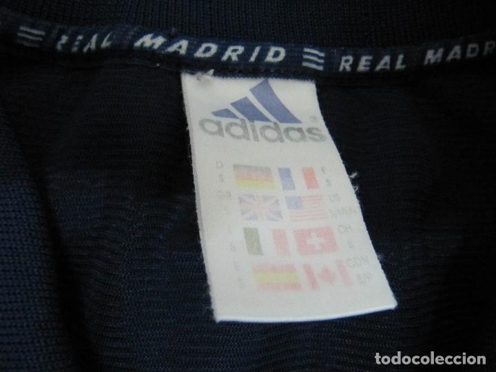 Coleccionismo deportivo: Camiseta R.Madrid ADIDAS publicidad Teka talla S original azul - Foto 8 - 179242693