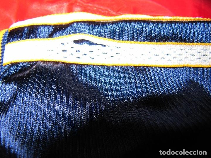 Coleccionismo deportivo: Camiseta R.Madrid ADIDAS publicidad Teka talla S original azul - Foto 10 - 179242693