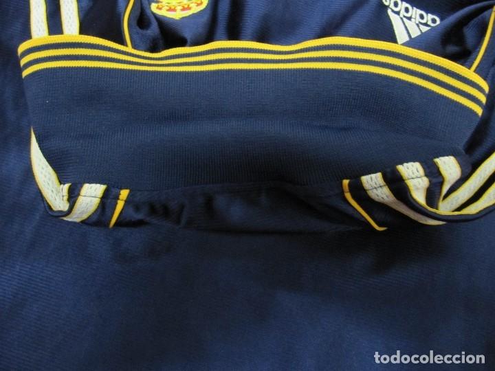 Coleccionismo deportivo: Camiseta R.Madrid ADIDAS publicidad Teka talla S original azul - Foto 13 - 179242693