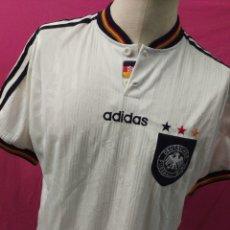 Coleccionismo deportivo: CAMISETA FUTBOL ORIGINAL ADIDAS EUROCOPA 1996. SELECCION ALEMANA - ALEMANIA. Lote 179374478