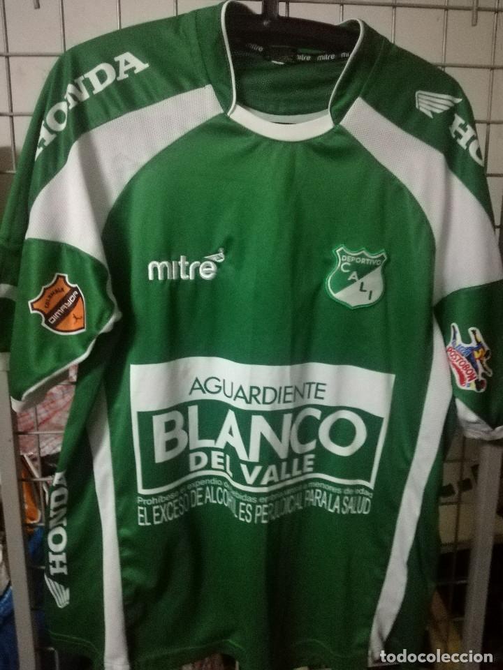 Deportivo Cali Colombia L Camiseta Futbol Footb Comprar Camisetas De Futbol En Todocoleccion 180469178