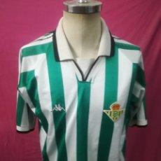 Coleccionismo deportivo: CAMISETA FUTBOL ORIGINAL KAPPA REAL BETIS BALOMPIE. Lote 180482208