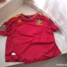 Coleccionismo deportivo: CAMISETA AUTENTICA ESOAÑA EUROCOPA 2012 UCRAINA. Lote 181106191