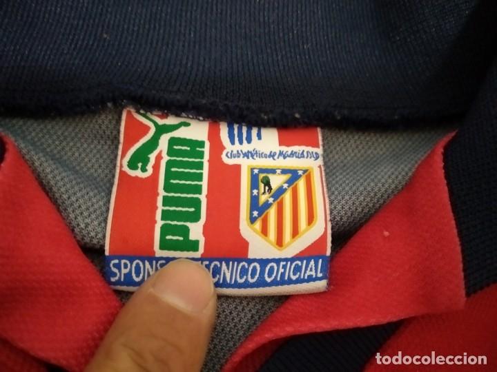 Coleccionismo deportivo: ANTIGUA CAMISETA ATLETICO MADRID PUMA BANDAI TALLA 8 - Foto 6 - 232249955
