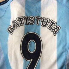 Coleccionismo deportivo: CAMISETA SELECCION ARGENTINA DE FUTBOL - BATISTUTA #9 - AÑOS 90 - XXL. Lote 182359347