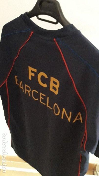 Coleccionismo deportivo: CAMISETA FCB BARCELONA / PRODUCTO OFICIAL / TIPOGRAFÍA EN REVERSO / TALLA M - Foto 2 - 182572903