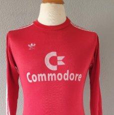 Coleccionismo deportivo: BAYERN MUNICH 1984-1985 CAMISETA FUTBOL ADIDAS COMMODORE. Lote 182692895