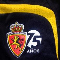 Coleccionismo deportivo: CAMISETA ADIDAS VINTAGE REAL ZARAGOZA 75 ANIVERSARIO. Lote 182799425