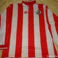 Coleccionismo deportivo: CAMISETA DE FÚTBOL HOLANDÉS. HOLANDA. FC SPARTA ROTERDAM. UMBRO XL. 250 GR. Lote 183190800