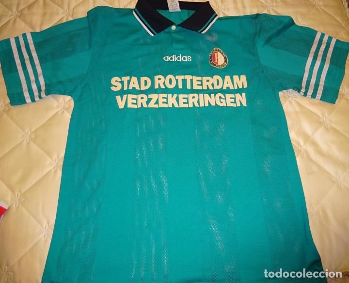 CAMISETA DE FÚTBOL HOLANDÉS. HOLANDA. FEYENOORD ROTTERDAM. 1998 1999. ADIDAS XL. 210 GR (Coleccionismo Deportivo - Ropa y Complementos - Camisetas de Fútbol)