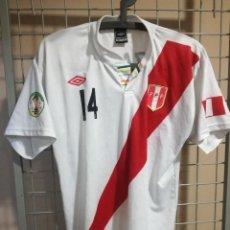 Coleccionismo deportivo: PERU M CAMISETA FUTBOL FOOTBALL SHIRT CALCIO. Lote 183722205