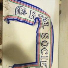 Coleccionismo deportivo: REAL SOCIEDAD VINTAGE BUFANDA SCARF FOOTBALL FUTBOL. Lote 183723151