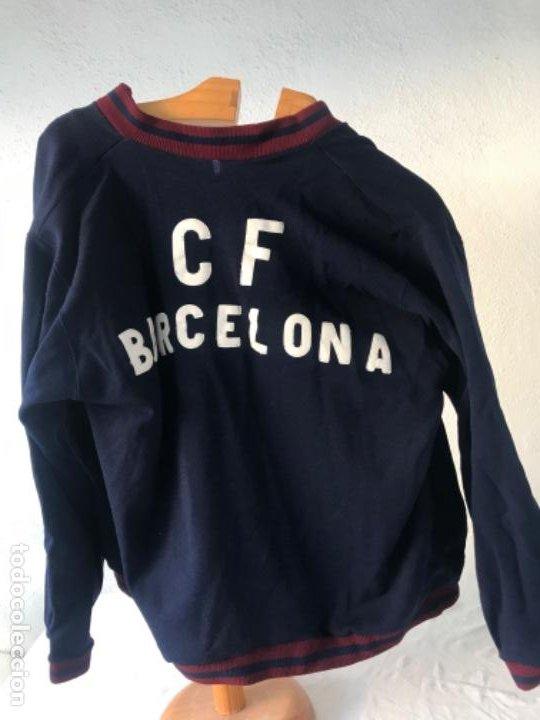 ESPECTACULAR Y ÚNICO CHÁNDAL DEL CLUB DE FÚTBOL BARCELONA 1960'S. MATCH WORN. (Coleccionismo Deportivo - Ropa y Complementos - Camisetas de Fútbol)