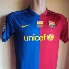 Coleccionismo deportivo: (F-191192)CAMISETA F.C.BARCELONA 2008-09 BOJAN - FINAL COPA DEL REI 2009. Lote 216020060