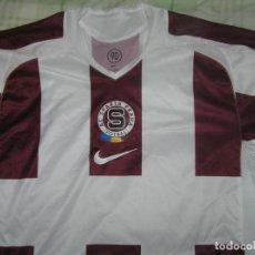 Coleccionismo deportivo: CAMISETA SPARTA PRAGA TEMPORADA 2005-06. Lote 186094696