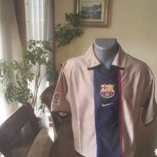 Coleccionismo deportivo: FC BARCELONA 2002. TALLA L. NIKE. Lote 186189565