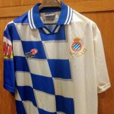 Coleccionismo deportivo: CAMISETA R.C.D. ESPANYOL. CENTENARI. 2000.. Lote 189780451