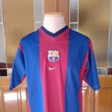 Coleccionismo deportivo: CAMISETA FUTBOL F.C.BARCELONA TEMPORADA 1998-99. TALLA L. ORIGINAL NIKE.. Lote 190332213