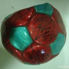 Coleccionismo deportivo: FC BARCELONA PELOTA BALL SIGNED PLAYERS FOOTBALL FUTBOL. Lote 190406026