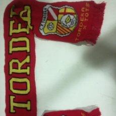 Collezionismo sportivo: CF TORDERA BUFANDA SCARF FOOTBALL FUTBOL. Lote 192088167