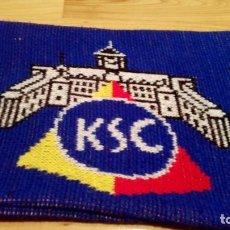 Coleccionismo deportivo: BUFANDA KARLSRUHER SC, (EXCLUSIVA EN TC). Lote 192744161