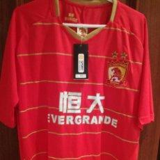 Coleccionismo deportivo: GUANGZHOU EVERGRANDE CHINA COMPLETE PAULINHO BRASIL XL FOOTBALL SHIRT CAMISETA FUTBOL. Lote 193169677