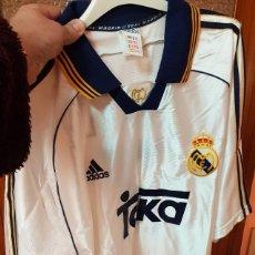 Collectionnisme sportif: CAMISETA OFICIAL REAL MADRID - RAUL DORSAL 7 - ADIDAS - TEKA - TALLA XL. Lote 193577689