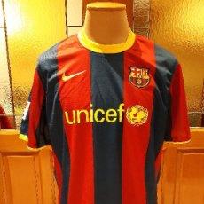 Coleccionismo deportivo: CAMISETA FC BARCELONA BARCA TEMPORADA 2010-11. NIKE. TALLA XL. SIN DORSAL. USADA BUEN ESTADO.. Lote 194238646