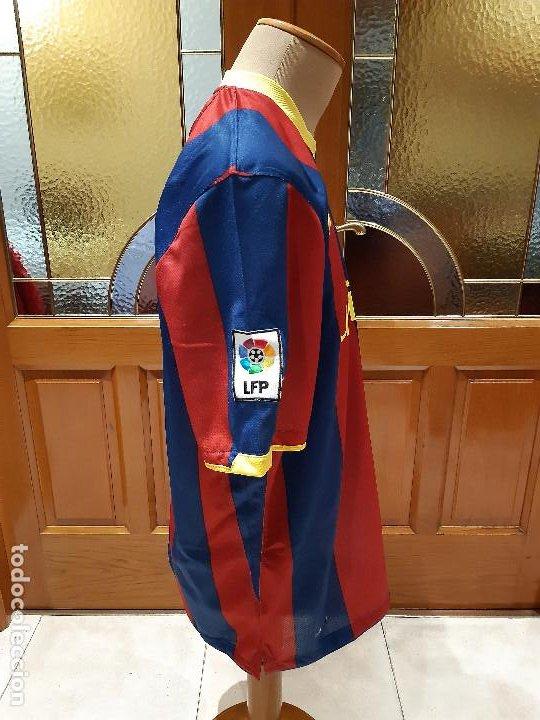 Coleccionismo deportivo: CAMISETA FC BARCELONA BARCA TEMPORADA 2010-11. NIKE. TALLA XL. SIN DORSAL. USADA BUEN ESTADO. - Foto 3 - 194238646